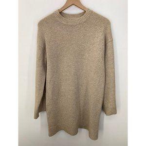 ASOS Mock Neck Long Sleeve Sweater Tan Size 4